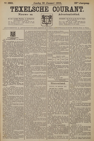 Texelsche Courant 1910-01-30