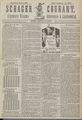 Schager Courant 1920-05-19