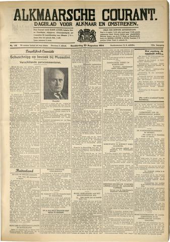Alkmaarsche Courant 1934-08-23