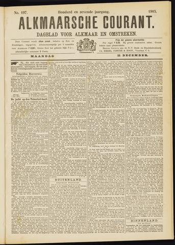 Alkmaarsche Courant 1905-12-11
