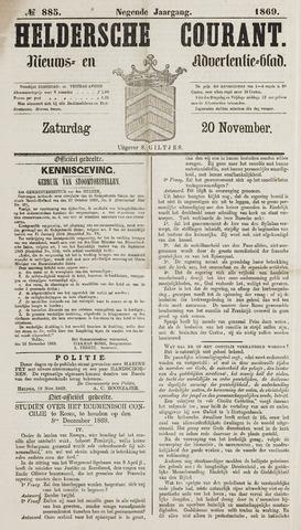 Heldersche Courant 1869-11-20
