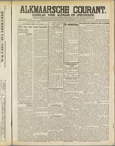 Alkmaarsche Courant 1941-09-22