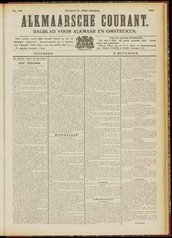 Alkmaarsche Courant 1909-11-27