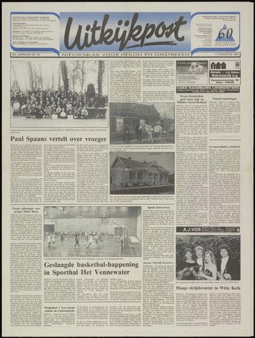Uitkijkpost : nieuwsblad voor Heiloo e.o. 1994-08-17