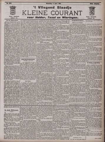 Vliegend blaadje : nieuws- en advertentiebode voor Den Helder 1902-04-09