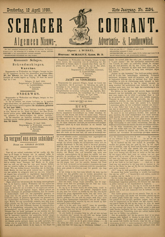 Schager Courant 1888-04-12