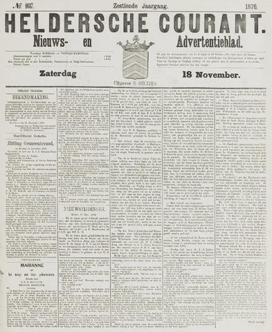 Heldersche Courant 1876-11-18