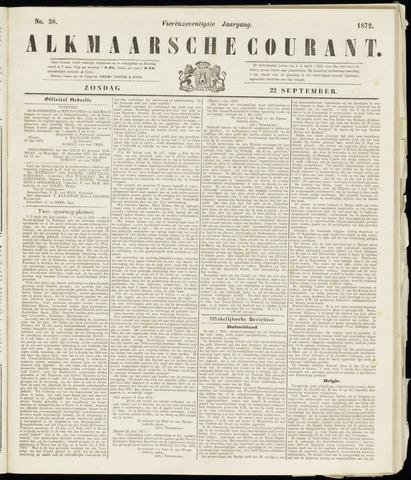 Alkmaarsche Courant 1872-09-22