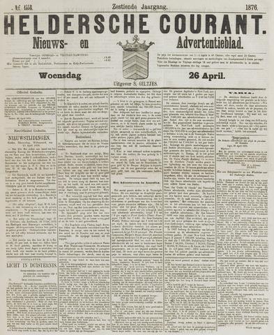 Heldersche Courant 1876-04-26