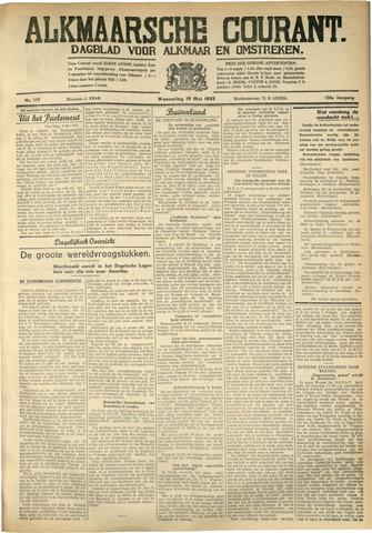 Alkmaarsche Courant 1933-05-10