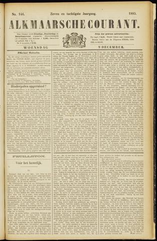 Alkmaarsche Courant 1885-12-09