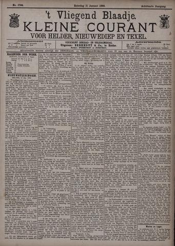 Vliegend blaadje : nieuws- en advertentiebode voor Den Helder 1890-01-11