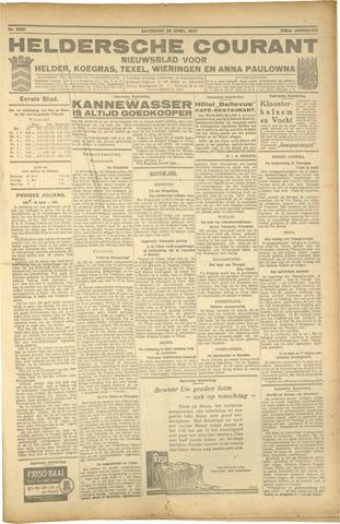 Heldersche Courant 1927-04-30