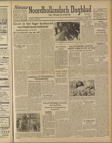 Nieuw Noordhollandsch Dagblad : voor Alkmaar en omgeving 1947-04-28