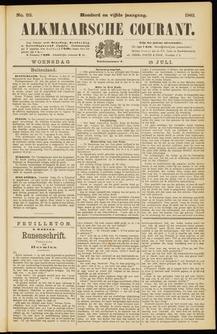 Alkmaarsche Courant 1903-07-15