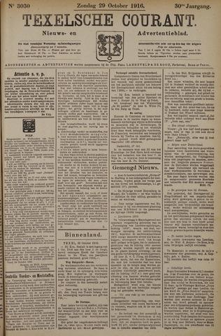 Texelsche Courant 1916-10-29