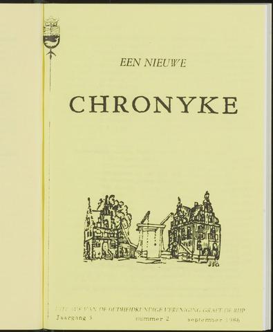 Een Nieuwe Chronyke van het Schermereiland 1986-09-01