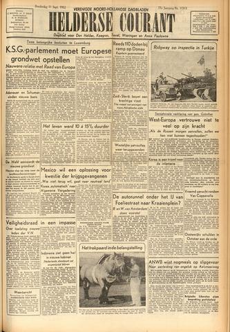 Heldersche Courant 1952-09-11
