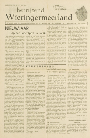 Herrijzend Wieringermeerland 1947-01-04