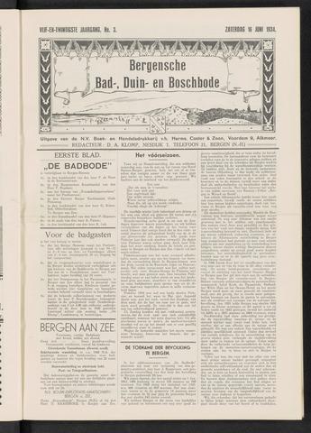 Bergensche bad-, duin- en boschbode 1934-06-16