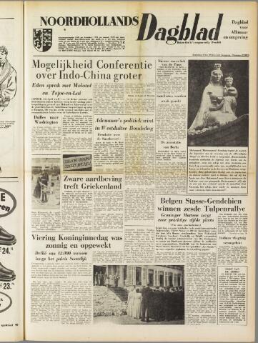 Noordhollands Dagblad : dagblad voor Alkmaar en omgeving 1954-05-01