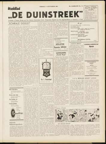 De Duinstreek 1963-09-13