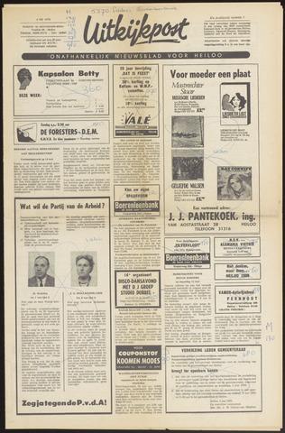Uitkijkpost : nieuwsblad voor Heiloo e.o. 1970-05-06