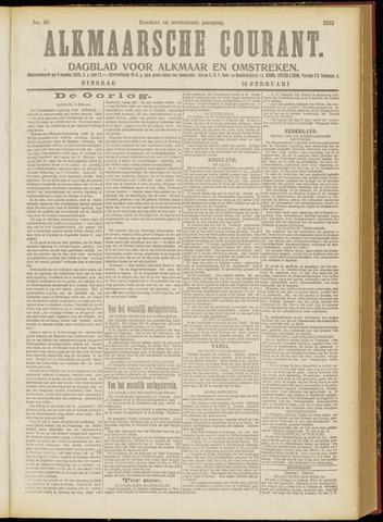 Alkmaarsche Courant 1915-02-16