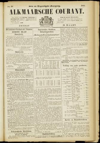 Alkmaarsche Courant 1891-03-29