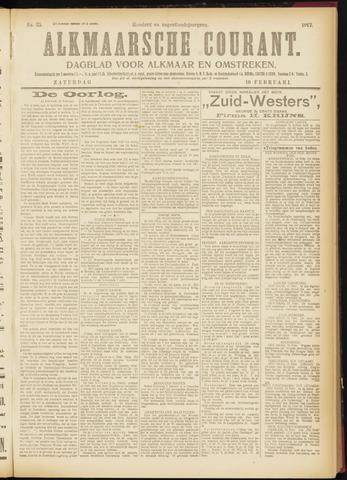 Alkmaarsche Courant 1917-02-10