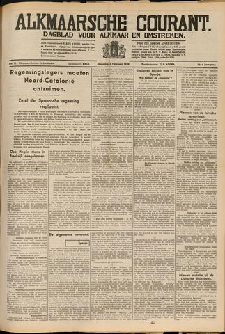 Alkmaarsche Courant 1939-02-06