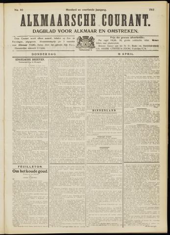 Alkmaarsche Courant 1912-04-18