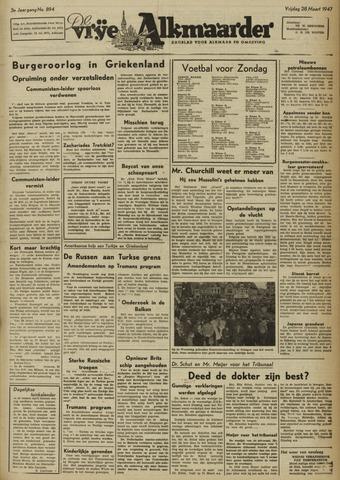 De Vrije Alkmaarder 1947-03-28