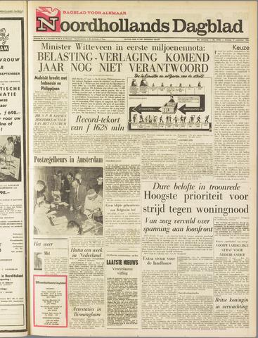 Noordhollands Dagblad : dagblad voor Alkmaar en omgeving 1963-09-17