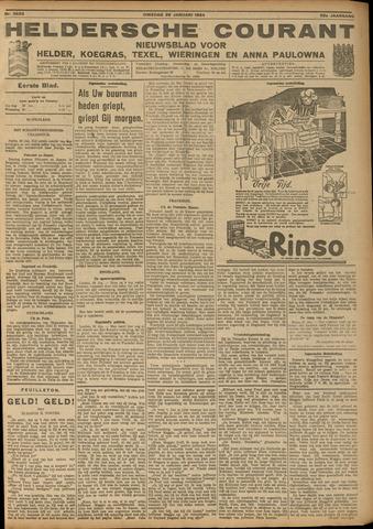 Heldersche Courant 1924-01-29