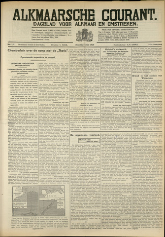 Alkmaarsche Courant 1939-06-06