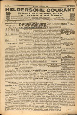 Heldersche Courant 1928-08-11