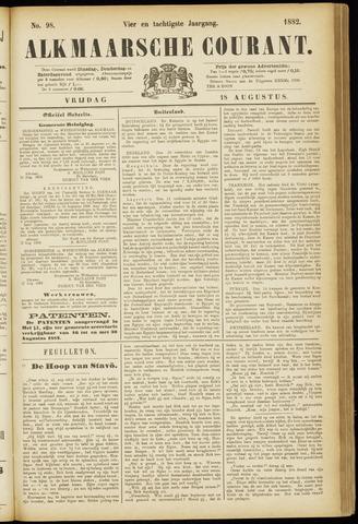 Alkmaarsche Courant 1882-08-18