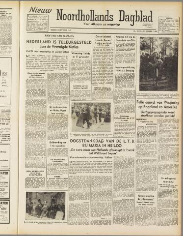 Nieuw Noordhollandsch Dagblad : voor Alkmaar en omgeving 1947-09-19