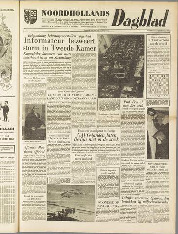 Noordhollands Dagblad : dagblad voor Alkmaar en omgeving 1958-12-17
