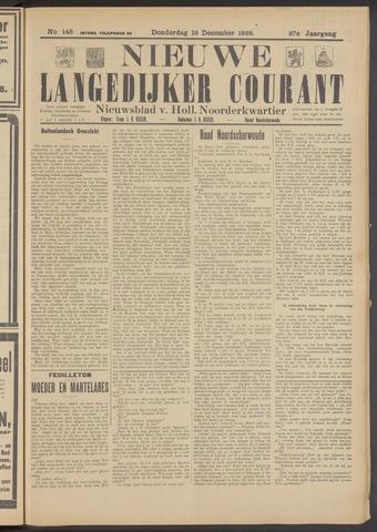 Nieuwe Langedijker Courant 1928-12-13