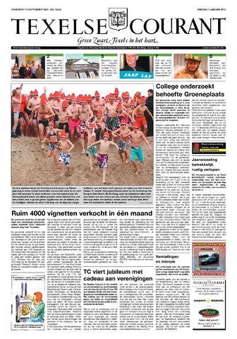 Texelsche Courant 2012