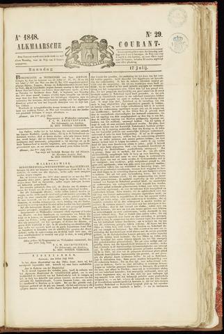 Alkmaarsche Courant 1848-07-17