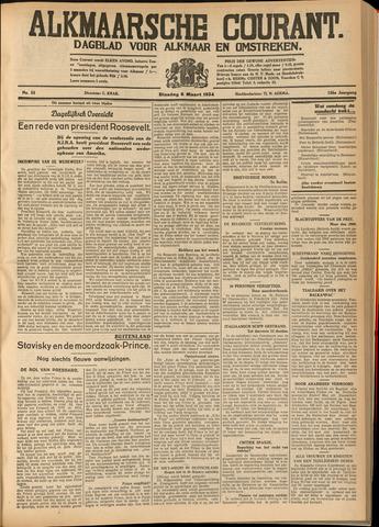 Alkmaarsche Courant 1934-03-06