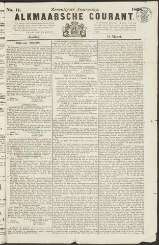 Alkmaarsche Courant 1868-03-15