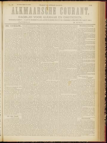 Alkmaarsche Courant 1916-04-22