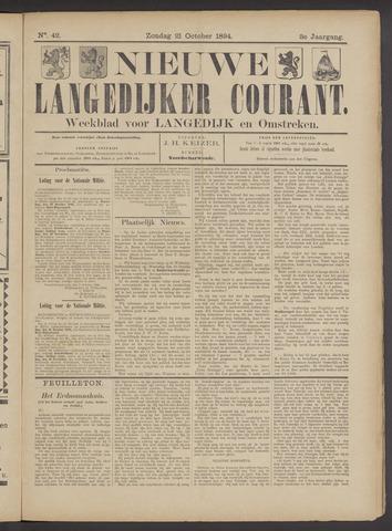 Nieuwe Langedijker Courant 1894-10-21