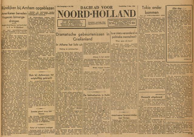 Heldersche Courant 1944-12-07