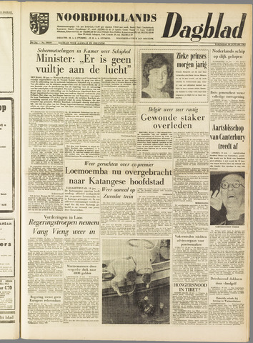 Noordhollands Dagblad : dagblad voor Alkmaar en omgeving 1961-01-18