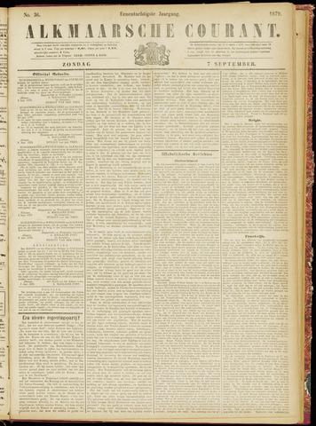 Alkmaarsche Courant 1879-09-07